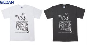 ハズミズム2019 サポーターズ Tシャツ (※イラスト:二階堂和美×鎮座DOPENESS×ふちがみとふなと)