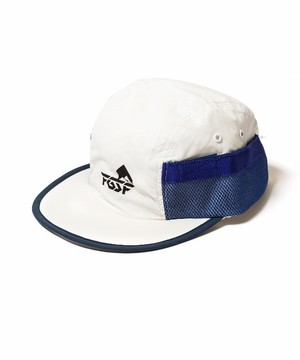 SIDE MESH CAP  WHITE  19SS-FS-68