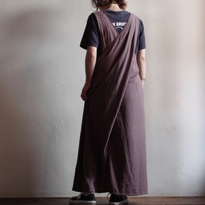 Select Item / Back Cross Jumper skirt / バッククロス ジャンパー スカート