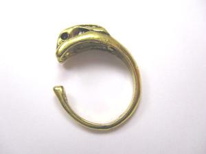 うさぎの指輪 フリーサイズ 単品(ゴールドorシルバー)