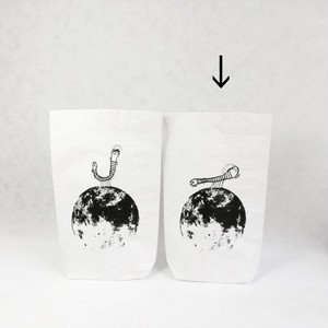 Uncle earwigs Planet - Paper bag 70cm