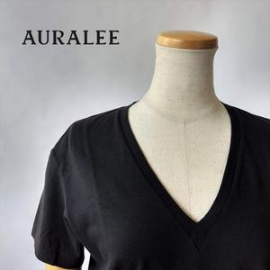 AURALEE/オーラリー・Seamless V-neck tee