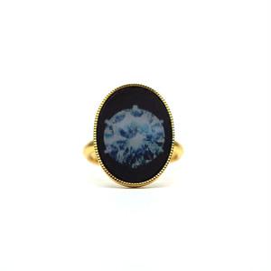 カワリング(ダイヤ&石ころ・楕円形)