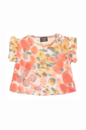 tocoto vintage FLOWER BABY T-SHIRT