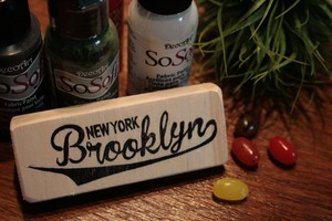 Stamp『Brooklyn』brannboll