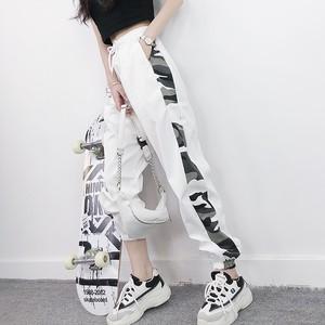 【ボトムス】カモフラストリート系カジュアルパンツ25968022