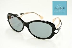 Choco Sun ちょこサン 鼻に跡がつかないサングラス  FG24500 BK