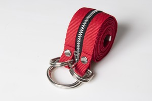 NP030|Exchangeable Twin Tape Belt【Dioscuri】#RED