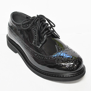 【Reguler Line】WING TIP SHOES GR-KI2534 ALL BLACK