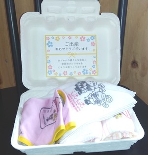 Hi-Hiオリジナル 出産プチギフトセット GIRL ver