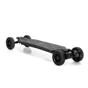 OWNBOARD|Bamboo AT|All Terrain Electric Skateboard, Dual Belt Motor