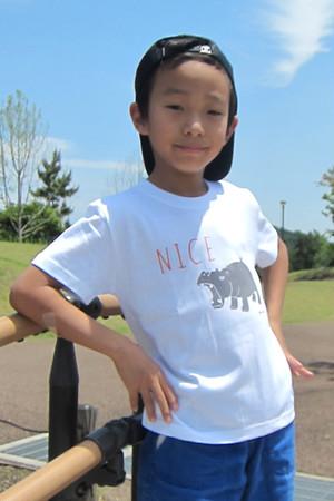 ナイスカバー キッズ半袖Tシャツ 親子おそろいTシャツ