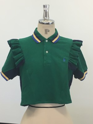 リメイクポロシャツ(グリーン)