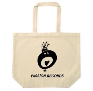 PASSiON RECORDS トートバッグ ナチュラル