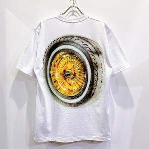 BLACK EYE PATCH / WHEELZ TEE