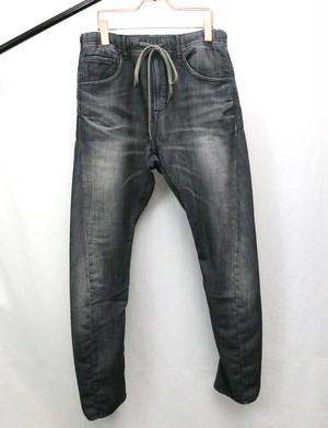 Knit Denim Pants Gray