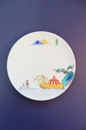 circusに山水/ plate(15cm)