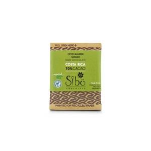 Sibuチョコレートクリスタライズジンジャー(カカオ70% 25g)