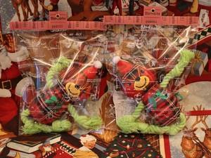 デンタルソフトロープTOY クリスマスタータンベア