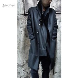 ANDREA YA'AQOV Funnel Neck Wool Coat
