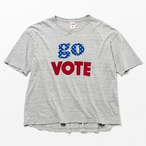 GO VOTE BIG TEE - GREY