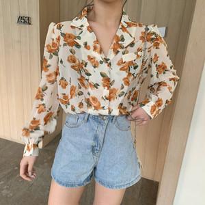 フラワーシアーシャツ RD5702