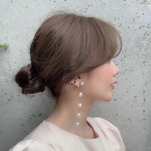 【予約】snow drop earring gold 12/13 21:00~ 再販 (12月下旬発送)