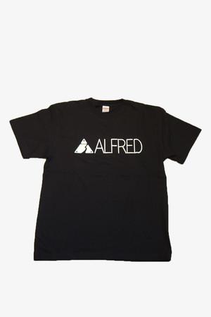 ALFRED ロゴ Tシャツ (ブラック)