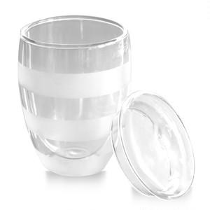フタ付き二重グラス