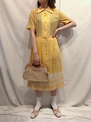 yellow shirt one-piece