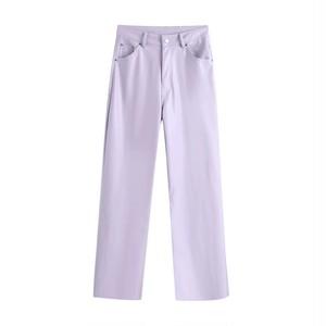 【即納】lavender pants