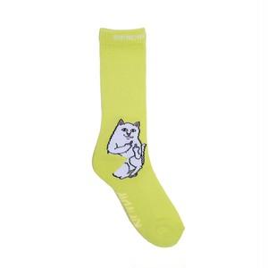 RIPNDIP - Lord Nermal Socks (Safety Green)