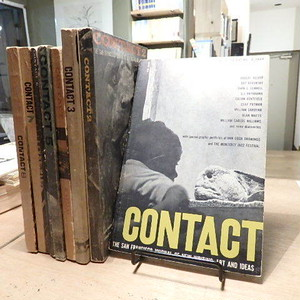 CONTACT THE SAN FRANCISCO JOURNAL OF NEW WRITING, ART AND IDEAS 1-8(8巻セット)