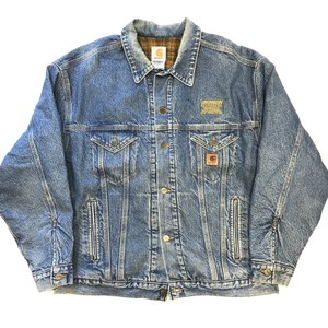 90's~ Carhartt denim jacket