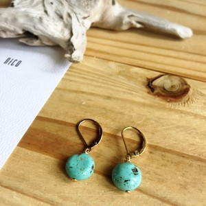 【14kgf】Turquoise04~サーフィン&ビーチピアス~