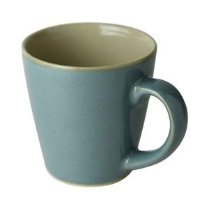 益子焼 つかもと窯 ブルー 260ml マグカップ 伝統釉シリーズ 益子青磁釉 PM-3