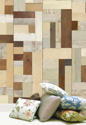 【NLXL】 PIET HEIN EEK  scrap wood wallpaper  PHE-06