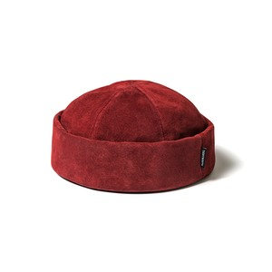 TIGHTBOOTH SUEDE ROLL CAP WINE L タイトブース キャップ