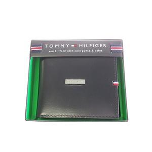 トミー ヒルフィガー TOMMY HILFIGER 折財布 メンズ 31TL25X012-001 ブラック