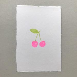 postcard (cherry)