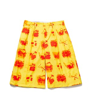 """illegal"" SHORTS  YELLOW  19SS-FS-38"