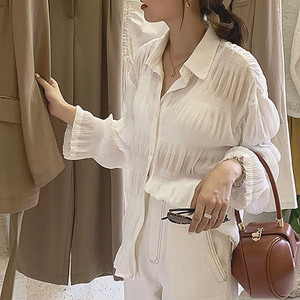 Sheer Crepe Shirts 送料無料