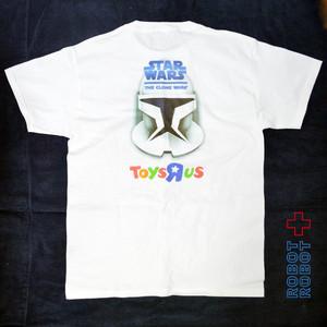 Tシャツ メンズUSED スターウォーズ トイザらス ダブルネーム 2008