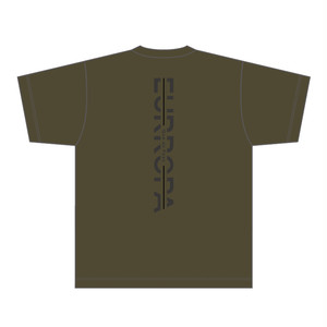 [VERTICAL]EURROPA LOGO T-SHIRT(Army Green)  & ORIGINAL TOTE BAG