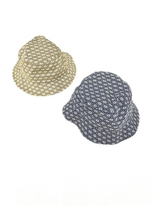 CHANCEGF HEMP PATTERN BUCKET HAT
