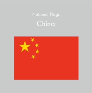 国旗ステッカー 中国