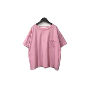 bukht - Pocket Wide Tee (size - F) ¥6000+tax