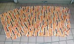 ベッドカバーとピローケース【オレンジ】(0717213Y100)
