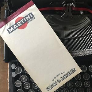 縦長のオシャレなヴィンテージメモ帳(フランス)