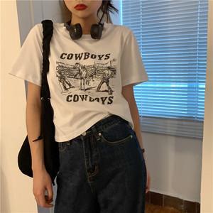フロントプリントTシャツ RD6131